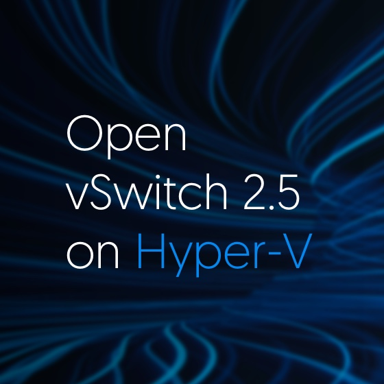 Open vSwitch 2.5 on Hyper-V