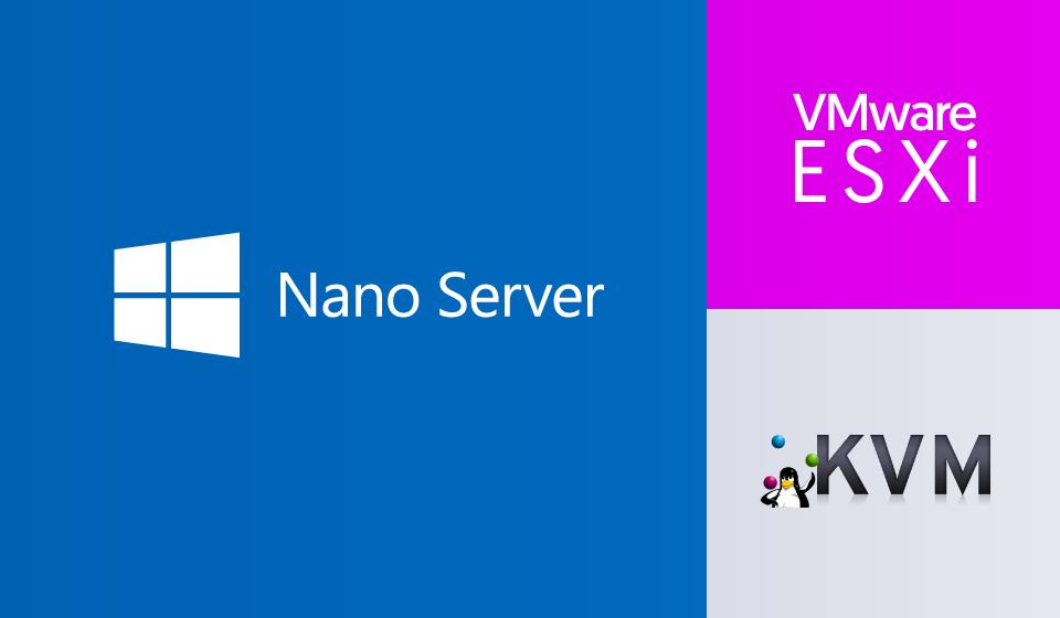 Nano Server on KVM and ESXi - Cloudbase Solutions