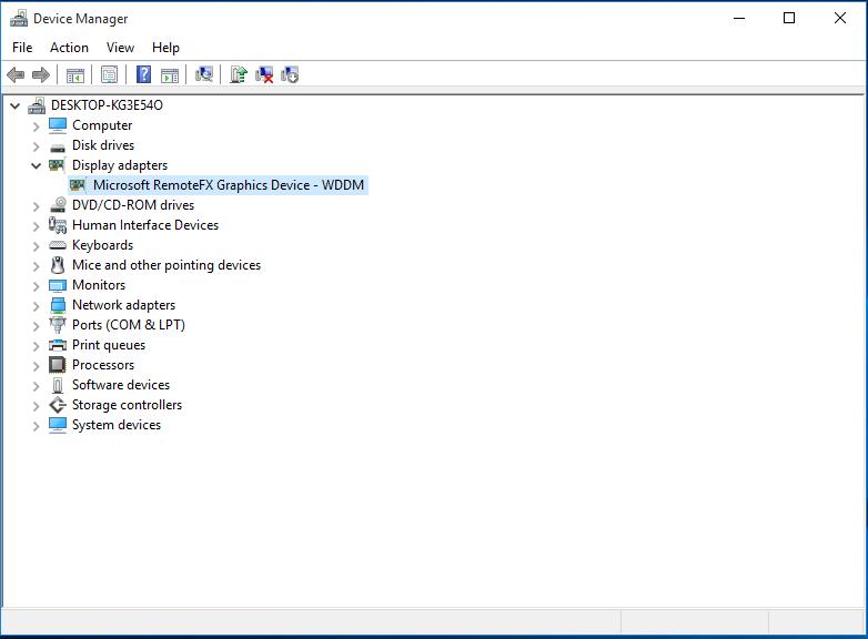RemoteFX inside a guest VM
