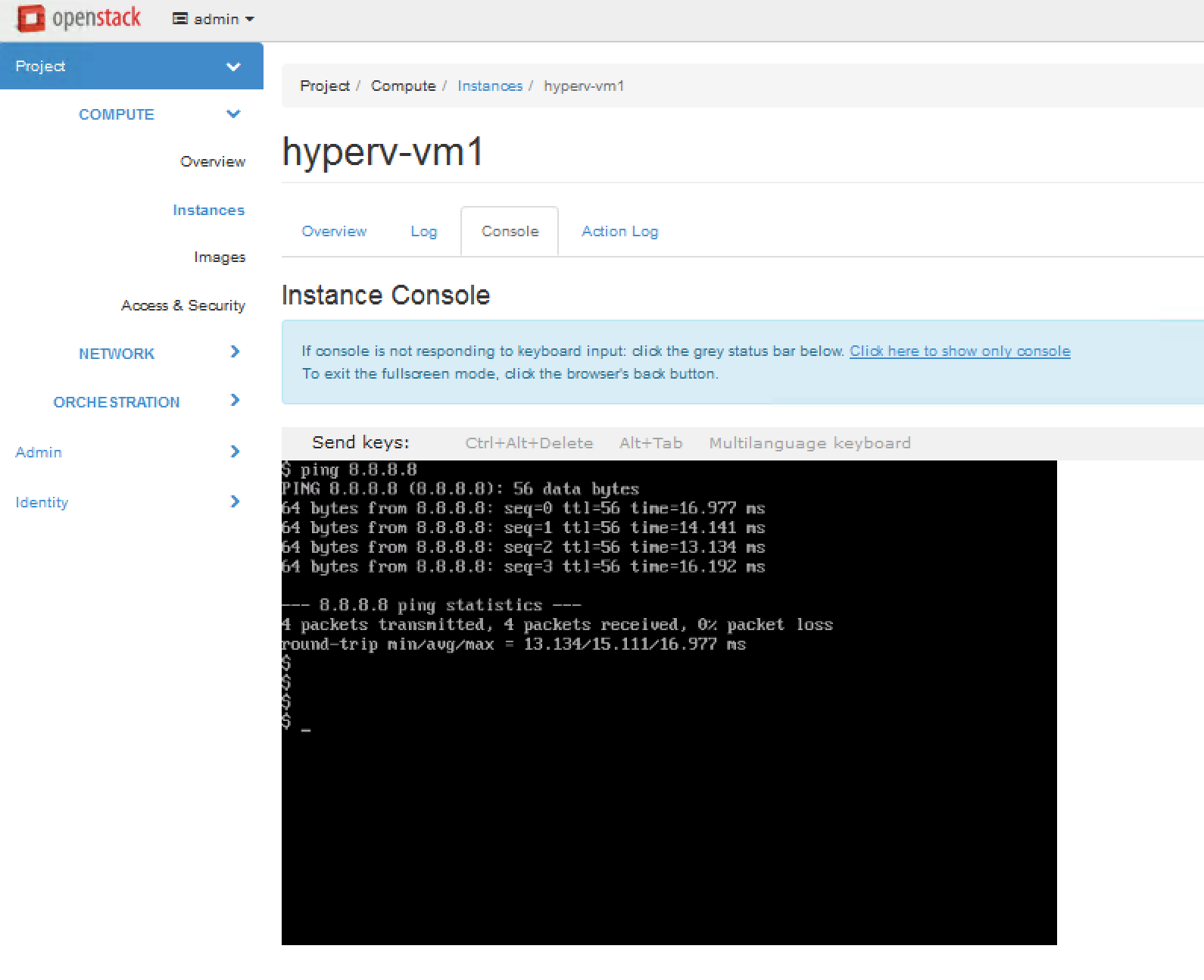 Deploying OpenStack using Docker containers with Hyper-V and