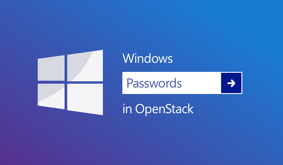 Setting the Windows admin password in OpenStack - Cloudbase